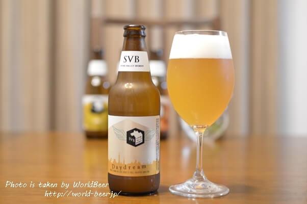 飲みやすいホワイトビール!SVBのdaydream!