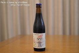 ラベルが日本語!?ベルギービール「欧和クリスマス」