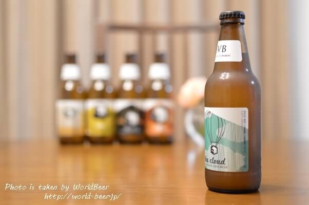 女性にもオススメできるSVBのビール。「on the cloud」