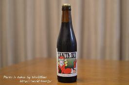 女性サンタがラベルの甘めのベルギービール「サンタ ビー」